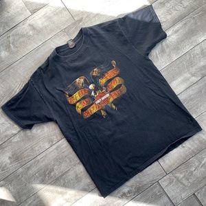 Vintage black Harley Davidson San Juan PR t-shirt